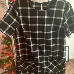 Flannel dress from Forever 21